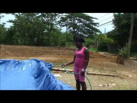 MUST SEE... JAMAICAN HOME-MADE SWIMMING POOL...