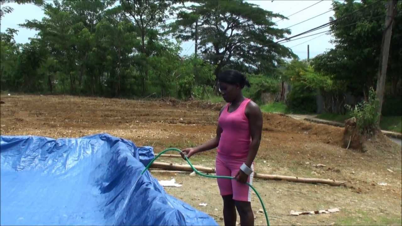 MUST SEE JAMAICAN HOME MADE SWIMMING POOL YouTube
