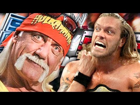 HULK HOGAN TURNS INTO A BLOODY JOBBER! (WWE SvR 2007)