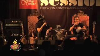 Legendary Guitarist Slash plays with Ernie Ball Slinky Guitar Strings