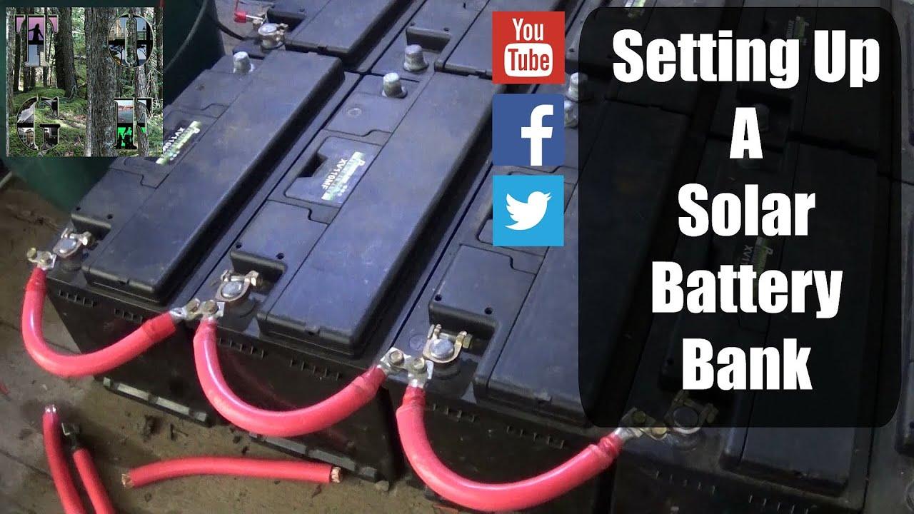 hight resolution of setting up a solar battery bank simple process 12v 24v tips 12v solar battery bank wiring