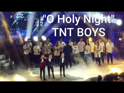 O Holy Night — BOYS LISTEN Concert at the Araneta Coliseum