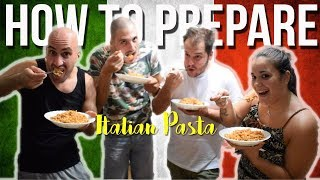 How To Make ITALIAN PASTA