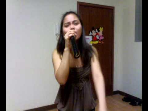 Yayanne singing MANIWALA KA-Aegis