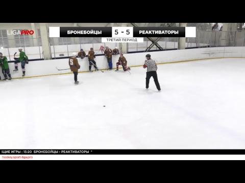 Шорт хоккей. Дневной турнир. Лига Про. 19 декабря 2018 г