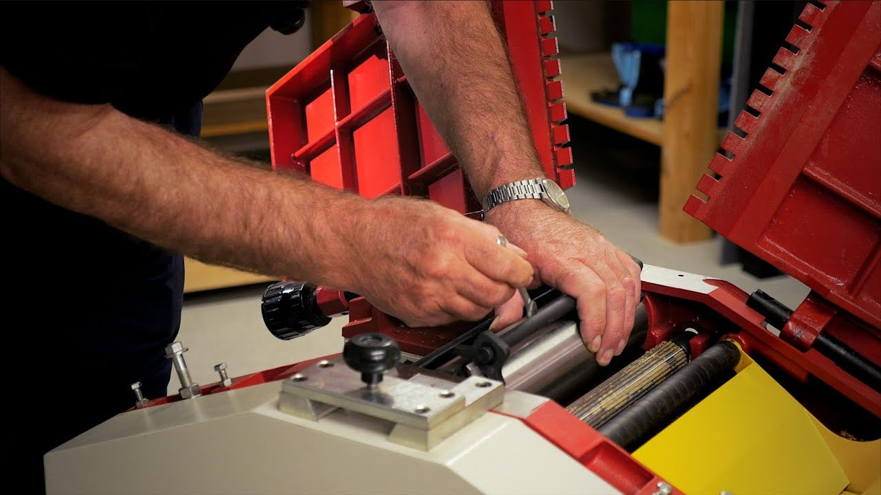 setting up your new planer thicknesser - the knowledge blog
