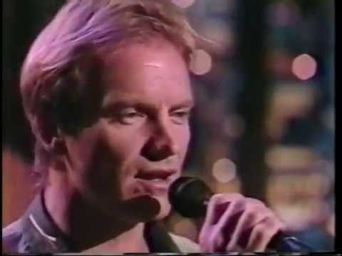 Sting  -  Mad About You (Late Night Show  Live 1991) mp3