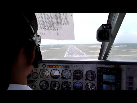 Flying into Belize International Airport