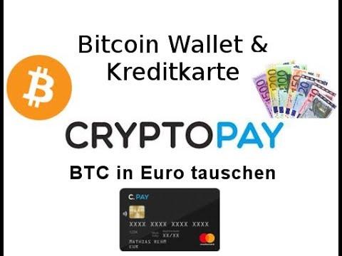 Bitcoins in Geld umwandeln - Cryptopay.me Kreditkarte Erfahrung