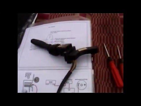 Правильное подключение переключателя поворотов от газ31105
