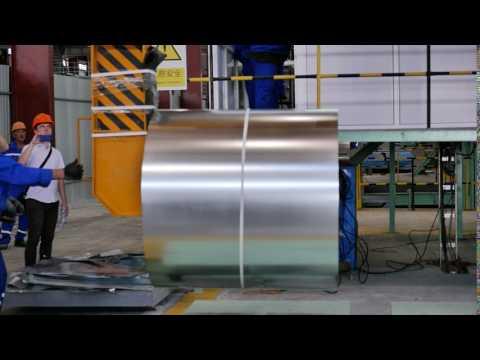 рулон оцинкованой стали от ОК Рустехнологии