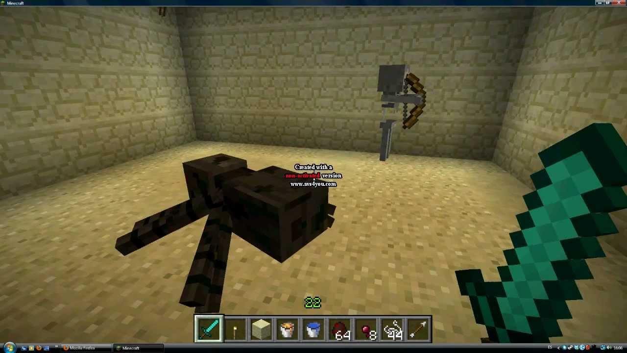 minecraft curiosidades 2  esqueleto jinete de ara u00f1a