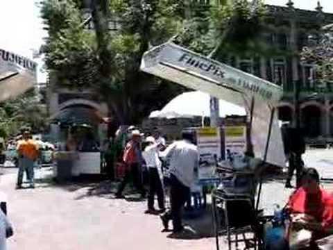 Mexico Travel: Main Square of Cuernavaca