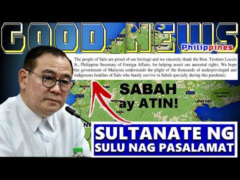 GOOD NEWS SULTANATE OF SULU CONFIRMED ANG SABAH AY SA PILIPINAS | SULTANATE NAG PASALAMAT KAY LOCSIN