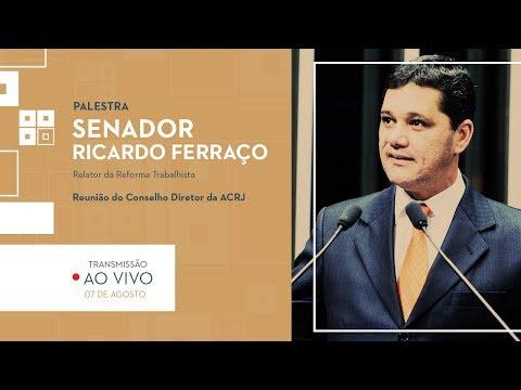 REUNIÃO DO CONSELHO DIRETOR DA ACRJ – RICARDO FERRAÇO