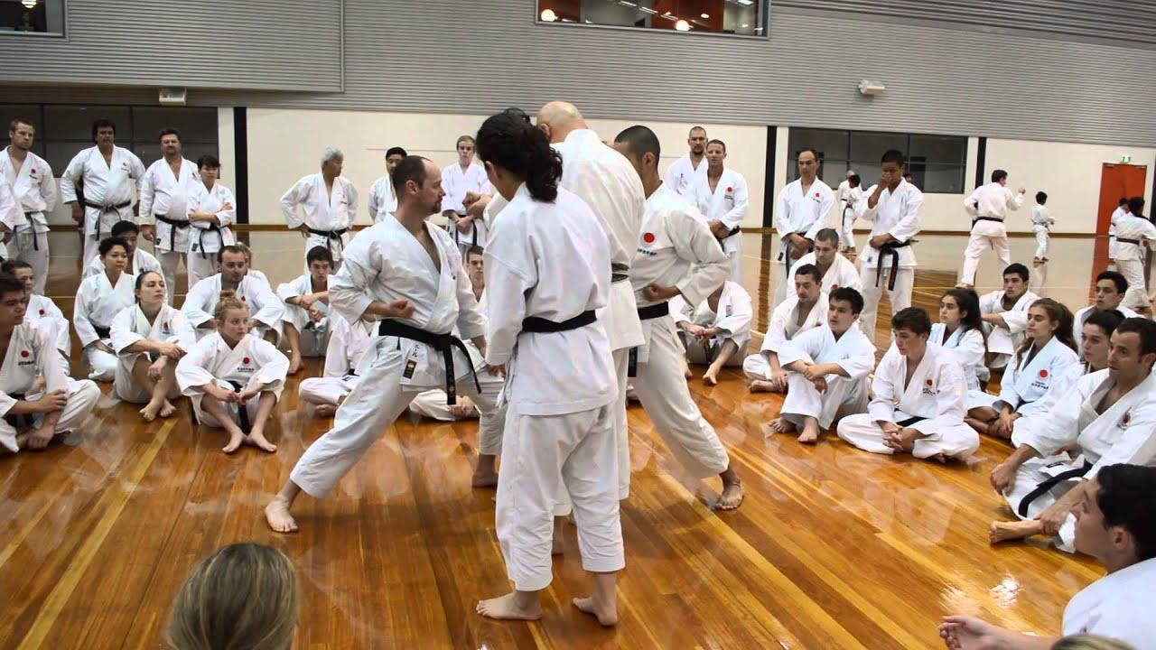 7 March 2014 All JKA National Seminar - JKA HQ Instructor Mori Toshihiro Shihan