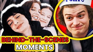 Stranger Things: Hilarious Bloopers and Funny Moments - Part 2 |🍿 Ossa'm Movies