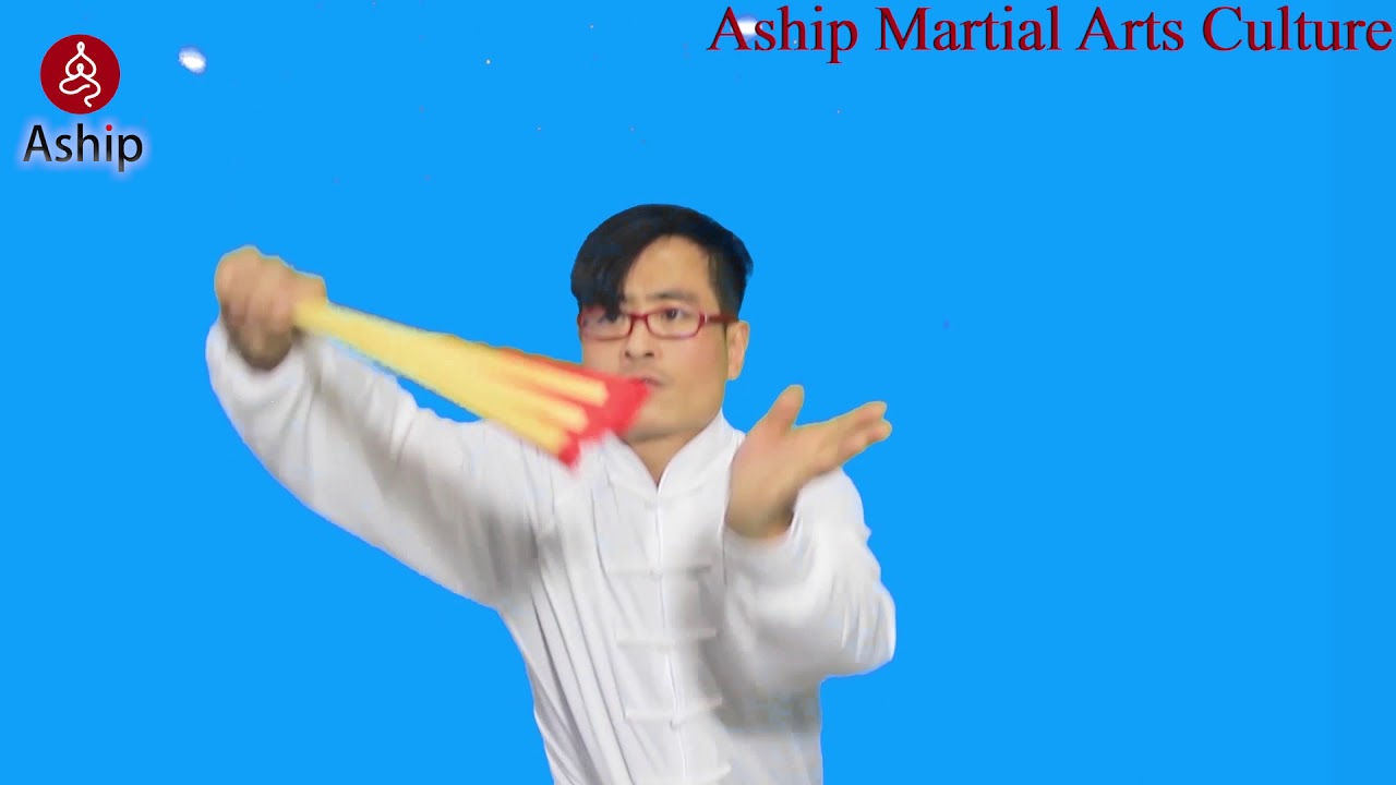 How to open a Tai Chi Fan and how to do the basic Tai Chi MOVEMENT