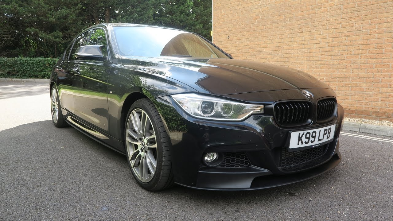 M Performance Kit Installed Splitter Skirts Diffuser Bmw F30 335i M Sport Black Sapphire