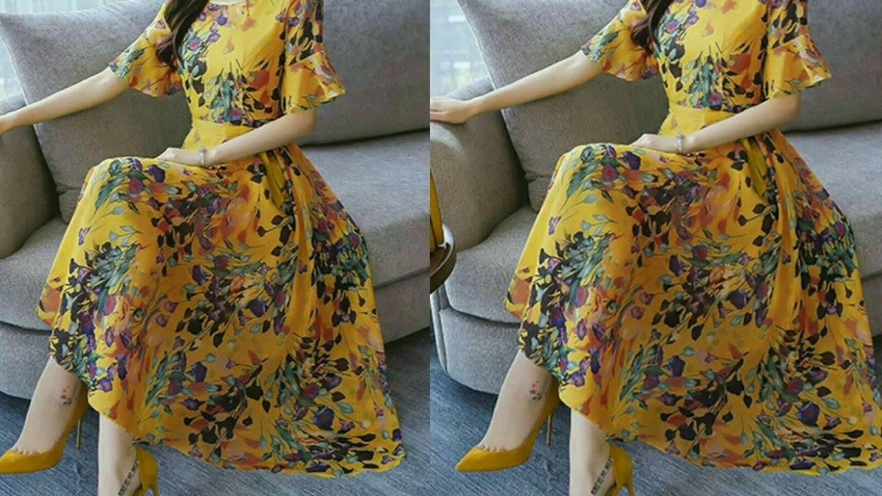35 Maxi Dress Design Ideas ll Different Styles of Maxi Dresses