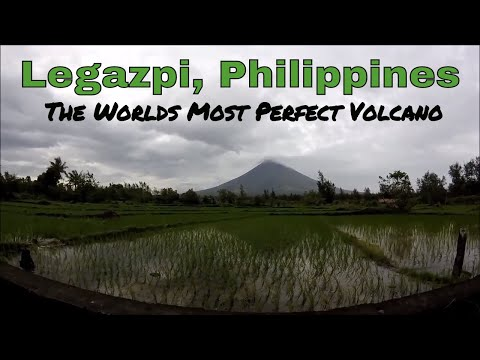 Philippines, Legazpi: We Found the Worlds Most Perfect Volcano!