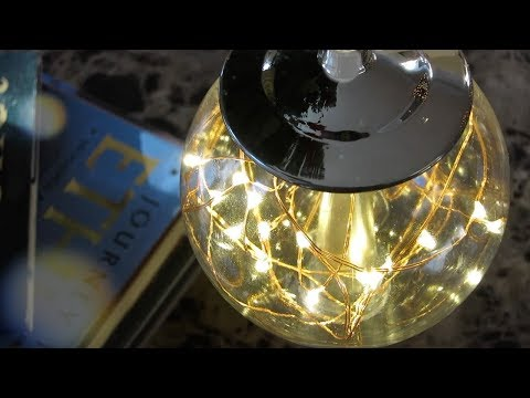 DIY Dollar Tree LED Modern Lamp/Light Globe