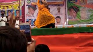 Pg College Sawai madhopur Girl dance //Meena wati song