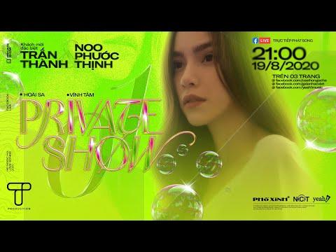[FULL] Private Show 01 | Love Songs | Hồ Ngọc Hà x Trấn Thành x Noo Phước Thịnh | T Production