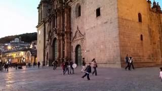 Cusco Peru - Plaza de Armas -  Sept 2014 - Samsung S5