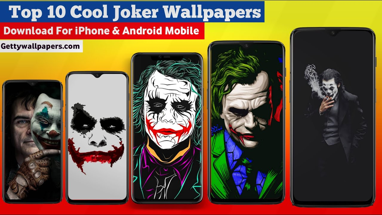 Top 10 Joker Wallpapers Download Now 2020 Collection Youtube