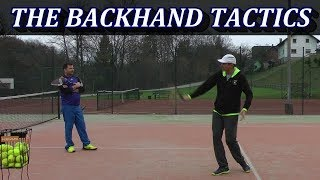 A Tactical Goal Of A Recreational Tennis Backhand