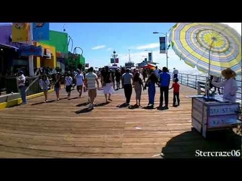 Summer Fun At The Santa Monica Pier / California Dreaming