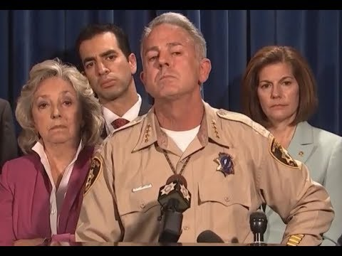 BREAKING NEWS: Las Vegas Metro Sheriff says Gunman placed Cameras inside and outside of Hotel Room