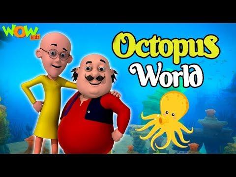 Motu Patlu  New Movie  Octopus World   Movie  Wow Kidz