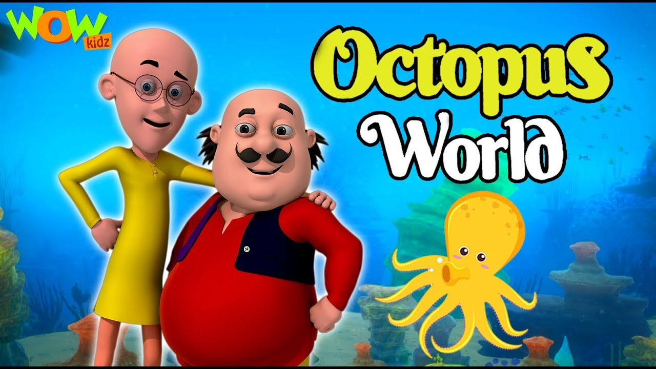 Motu Patlu | New Movie | Octopus World | Full Movie | Wow Kidz