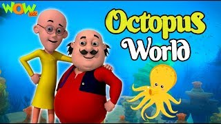 Motu Patlu  New Movie  Octopus World  Full Movie  Wow Kidz