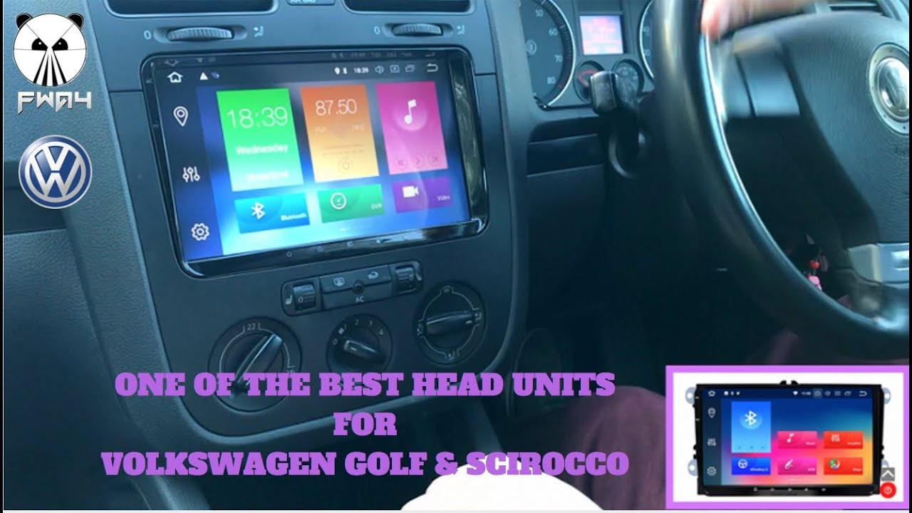 The Best Volkswagen Head Unit for Golfs & Scirocco - Seicane S6920G Full In  Car Review
