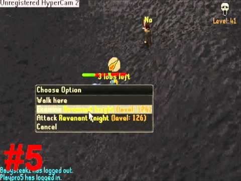 Runescape: Top 10 Hilarious/Funny Rev Hunting Moments