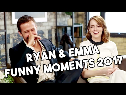 Ryan Gosling and Emma Stone  La La Land  Funny Moments