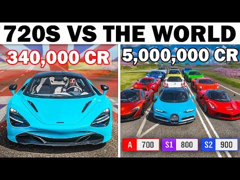 Forza Horizon 4 | McLaren 720S VS The World | Supercar With Hypercar Performance?