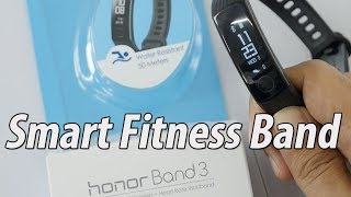 Honor Band 3 Fitness Tracker Unboxing Initial Setup & Overview