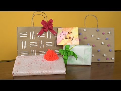 DIY Wrapping Paper | The Quirky Corner
