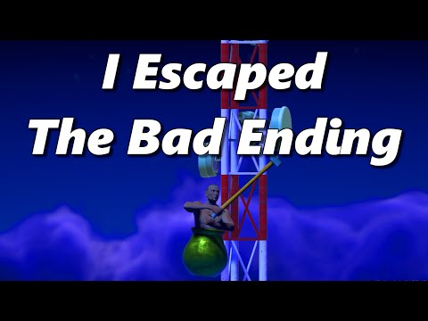 I Escaped The Bad Ending In Getting Over It With Bennett Foddy