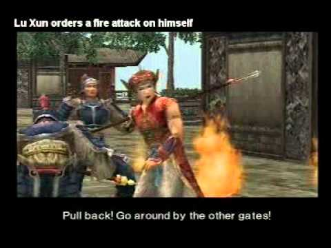 Dynasty Warriors 3 - Funny Cutscenes