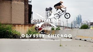 BMX - ODYSSEY CHICAGO - AARON ROSS, TOM DUGAN, GRANT GERMAIN, MATT NORDSTROM AND JARED SWAFFORD
