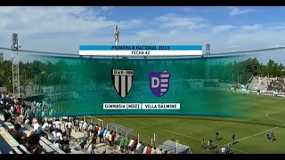 Gimnasia Mendoza vs Villa Dálmine full match