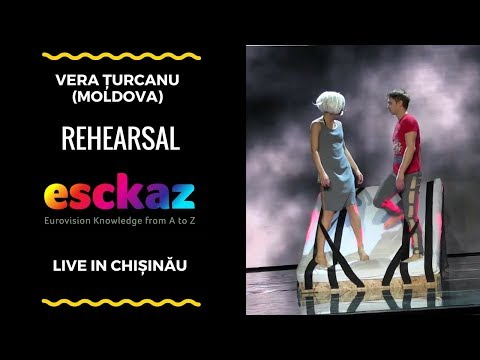 ESCKAZ in Chișinău: Vera Țurcanu - Black Heart (rehearsal)