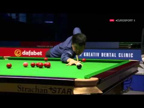 Mark Selby 5 Snooker Time Waster B4 Being Dumped By Liang Wenbo @2015 Gibraltar Open