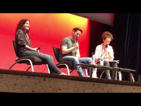 Colin O'Donoghue, Rachel Shelley Q&A at Fairy Tales V in Paris