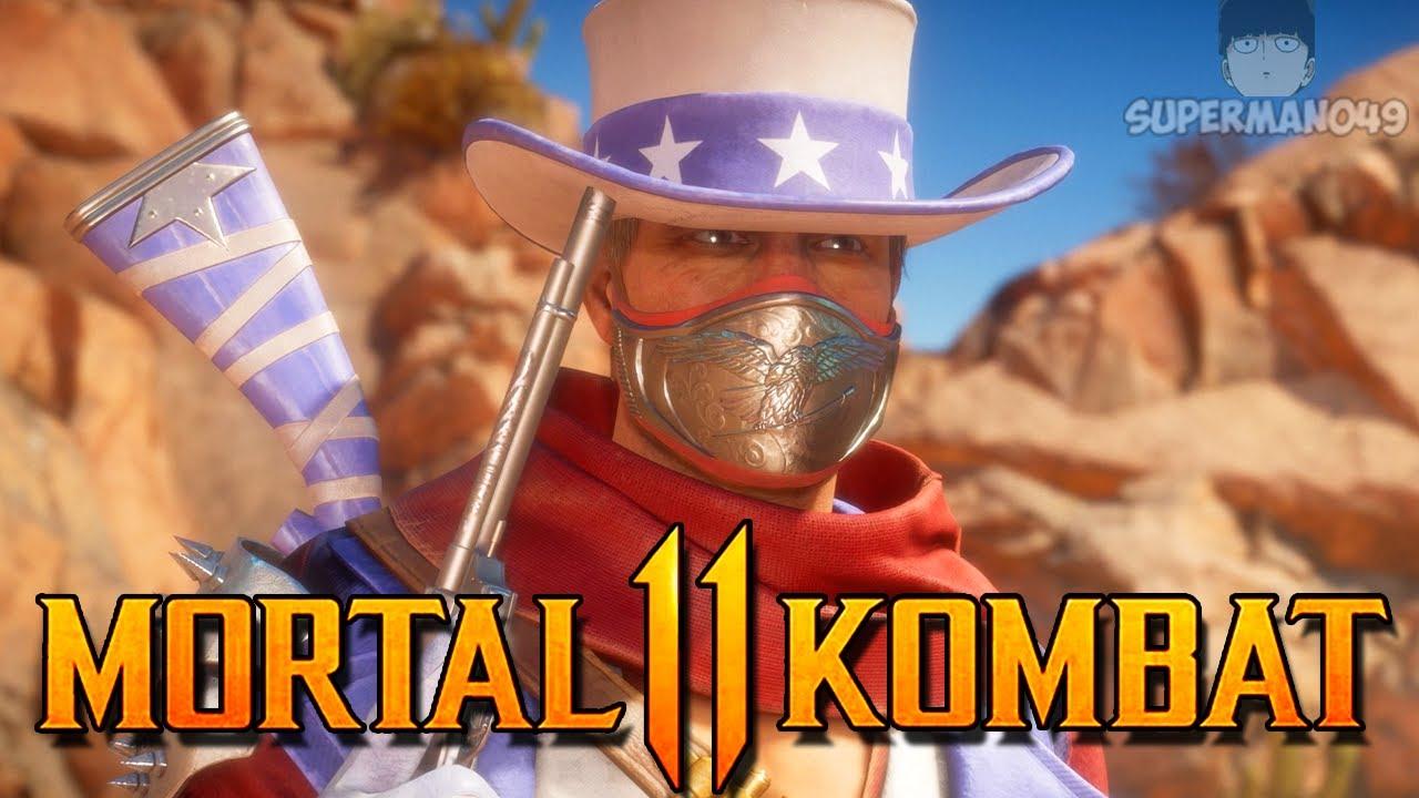 "I'M YOUR HUCKLEBERRY -Mortal Kombat 11: ""Erron Black"" Gameplay"